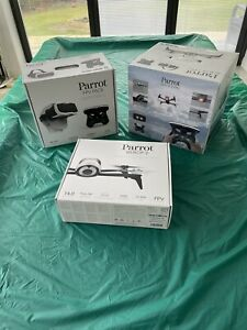 Parrot Bebop 2 FPV Drone Bundle, White - Used once only with all boxes £