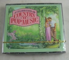 A Celebration of Country n Pop Music 4 CDs SEALED Readers Digest 1995