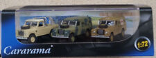 CARARAMA Military Land Rover 3-Pack 1/72 Die-cast Models (Brand New)