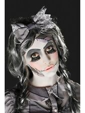 Broken Doll Make Up Kit Damaged Dolly Eye Lashes Tattoo Halloween Accessory Kit