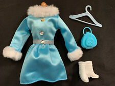 Coat Barbie Doll Set, Shoes & Accessories Lot Fashion Outfit Genuine Never Used