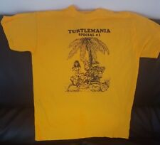 """TMNT """"Turtlemania GOLD"""" T-Shirt LOT- S, M, L, XL -(Sold Only as a set) See Info"""