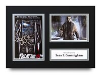 Sean S. Cunningham Signed A4 Photo Display Friday the 13th Autograph Memorabilia
