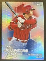 Shohei Ohtani 2018 Topps Chrome Update International Affair (Rookie RC Year)⭐️
