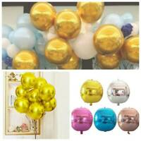 "22"" 7 Color 4D Round Latex Foil Balloon Baby Shower Wedding Birthday Party Decor"