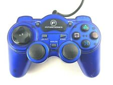 Futuretronics Blue Wired Controller for Sony Playstation 2 PS2  - Free postage
