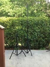 """2 Impact Air-Cushioned Heavy Duty Light Stands LS 96HAB 9.6"""""""