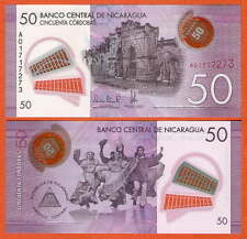 P212   Nicaragua     50   Cordoba   2014   UNC