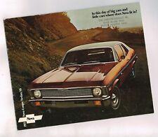 1971 Chevrolet NOVA Brochure: SS-350, SUPER SPORT, (damaged)