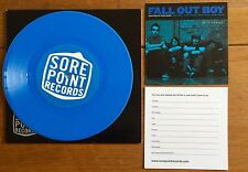 "Fall Out Boy - Dead On Arrival 7"" Blue Vinyl"
