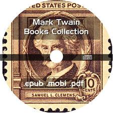 * MARK TWAIN 31 EBOOKS COLLECTION on CD * IPAD ANDROID EPUB MOBI KINDLE PDF NOOK