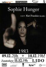SOPHIE HUNGER  - flyer 2010