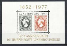 Luxemburg Block 10 postfris