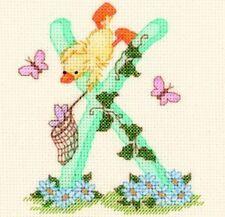 Popcorn Alphabet Counted Cross Stitch Kit PA43 Letter X