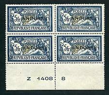 """ANDORRA STAMP STAMP N° 21 """" 5F MERSON BLOCK 4 """" NEW xx LUXE RARE"""