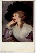 TSN Vienne Style Glamour Girl Hat Donnina Cappello PC Circa 1920