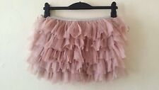TOPSHOP PINK TUTU SKIRT SKORT IN MESH LAYERS WITH SOFT JERSEY SHORTS LINING 10