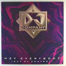 "12"" Maxi - DJ Company - Hey Everybody (Out Of Control) - C1480"