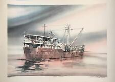 """Still Water"", Ltd. Ed. Lithograph, Pendleton, hand signed"
