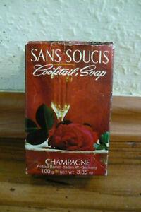 Sans Soucis Cocktail Seife/Soap ~Champagne ~100g/3,35 oz ~  vintage
