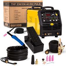MACCHINA per saldatura Tig SALDATRICE inverter portatile 200 AMP AC/DC IN ALLUMINIO A PEDALE