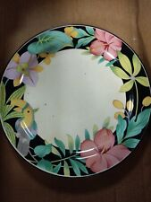 HANKOOK Rare Vintage Dinner Plate - HARD TO FIND PARROTT FLIRAL PATTERN