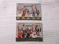1992-93 FLEER ULTRA NBA JAM SESSION MICHAEL JORDAN BARKLEY PIPPEN HAKEEM MALONE