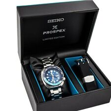 Seiko Limited Edition Japan Made Blue Lagoon Turtle 200M Men's Watch