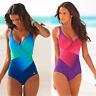 New Women One Piece Bikini Monokini Swimsuit Padded Backless Swimwear Beachwear