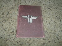 Return to Castle Wolfenstein Instruction Manual Only - No Game