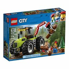 LEGO® City: Forest Tractor Building Play Set 60181 NEW NIB