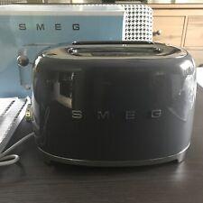 Smeg Toaster BHT 30 X 20 X 15 cm in grau NEU!