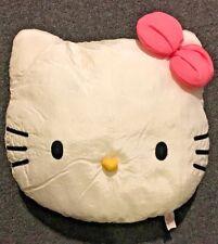 Sanrio Hello Kitty Face Bean Cushion Round Pillow Bedding Home Deco : Pink Bow