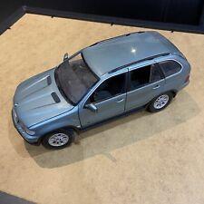 Kyosho 1/18 Scale Diecast BMW X5 Blue RARE