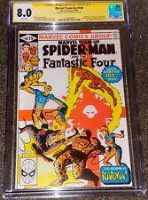 Marvel Team-Up #100 CGC 8.0 Frank Miller -FF-Karma Origin-Signed by Claremont