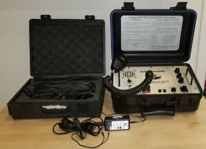 Aquacom STX-101M Diver Surface Station 8 Channel W/ Transducer & Microphone