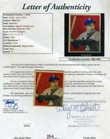 Billy Cox 1949 Bowman Rookie JSA Loa Autograph Authentic Hand Signed