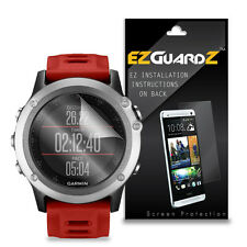 5X EZguardz NEW Screen Protector Skin Cover Shield HD 5X For Garmin Fenix 3