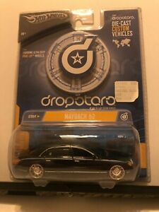1/50 HOT WHEELS DROPSTARS MERCEDES BENZ MAYBACH 62 BLUE