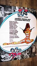james bond 007 CASINO ROYALE ! affiche cinema 1967