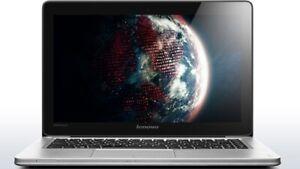 """Lenovo IdeaPad U410 Ultrabook 14"""" HD i5-3317U 1TB + 24GB SSD Lightweight Laptop"""
