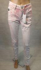 ★ Kangaroos ★ 38 ~  Trendige Jeans Röhre ~ Batik ~ rot weiss ~ Stretch ~ Skinny