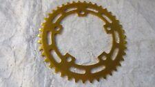 SUGINO CHAINRING 42 GOLD NOS VINTAGE BMX CRUISER RACING FREESTYLE BICYCLE