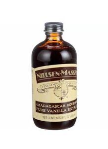 New sealed Nielsen-Massey Pure Vanilla Extract  Madagascar Bourbon 8 oz