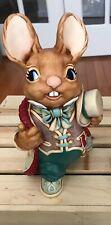 "Pendelfin ""Uncle Henry� Bunny Rabbit Figure Larger Size"