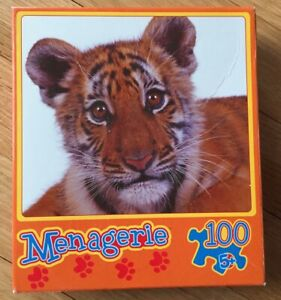 Menagerie Tiger 100 Piece Jigsaw Puzzle