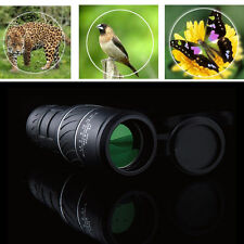 40 X 60 Night Vision Dual Focus Optics Zoom Lens Hunting Telescope Monocular