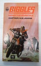 biggles defies the swastika W E johns armada 1974