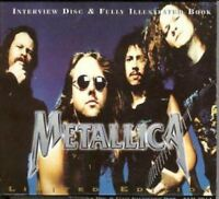 METALLICA fully illustrated book & interview disc (CD, limited-edition, & book)