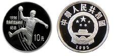1995 China Large Silver Proof 10 Yuan- Olympic Handball